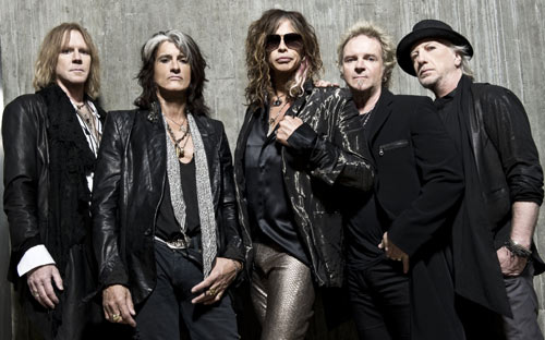 Aerosmith Music From Another Dimension press shot
