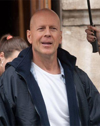 Bruce Willis Filming 'A Good Day To Die Hard'
