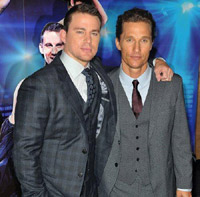 'Channing Tatum and Matthew McConaughey, . 'Magic Mike' European Premiere-Mayfair Hotel. London, England - 10.07.12