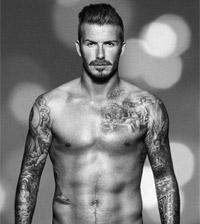 David Beckham H&M Promo Shot