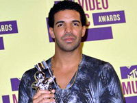 Drake 2012 MTV Video MusicAwards, held at the Staples Center - Press Room Los Angeles, California - 06.09.12