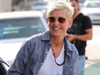 High fives to Ellen DeGeneres, who is now, officially, funny