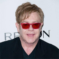 Sir Elton John The 2012 Concert For The Rainforest Fund Afterparty