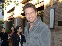 Gerard Butler Out And About