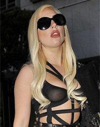 Lady Gaga . leaving Chateau Marmont . Los Angeles, California - 10.07.12.