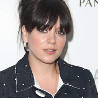 Lily Allen. The Glamour Women of the Year Awards 2012