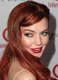 Lindsay Lohan Premiere