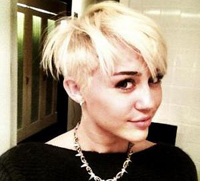 Miley Cyrus certainly caused a stir this week by chopping off her hair