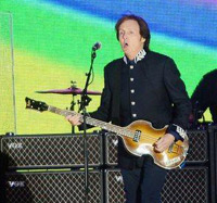 Paul McCartney performs at The Diamond Jubilee Concert at Buckingham Palace.. London, England- 04.06.12.