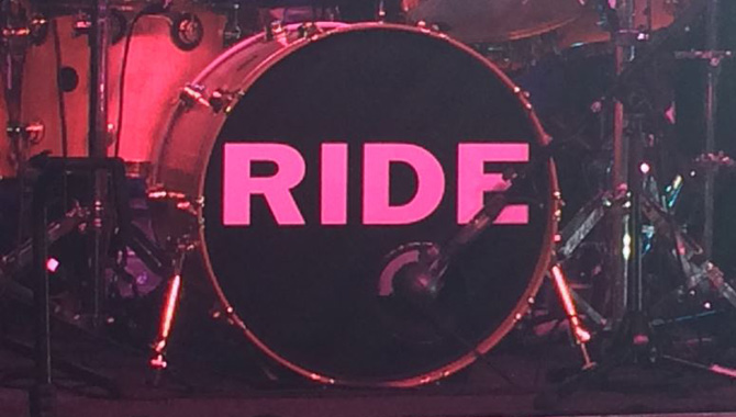 Ride - Rock City, Nottingham 14/10/2015 Live Review
