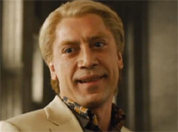 Blond Javier Bardem in Skyfall