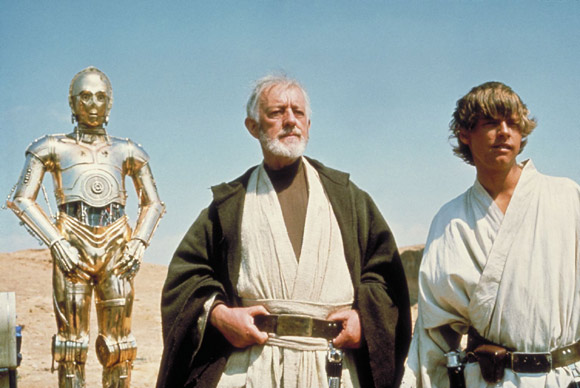 Luke Skywalker and Obi Wan