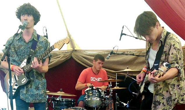 The Doctorates live at Lounge On The Farm 2014
