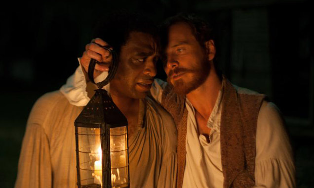 12 Years a Slave Chiwetel Ejiofor and Michael Fassbender