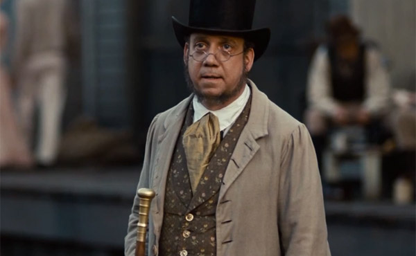 Paul Giamatti plays slave pen owner Mr. Theophilus Freeman - 12 Years A Slave
