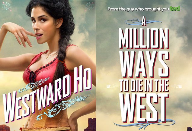 A Million Ways To Die In The West Poster Sarah Silverman
