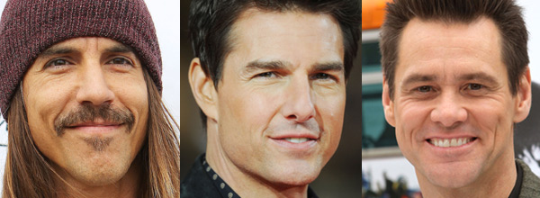 Anthony Kiedis, Tom Cruise, Jim Carrey
