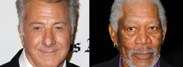 Dustin Hoffman, Morgan Freeman
