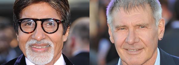 Harrison Ford, Amitabh Bachchan