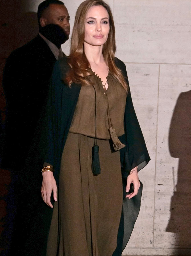 Angelina Jolie at the 2014 Women of the World Summit