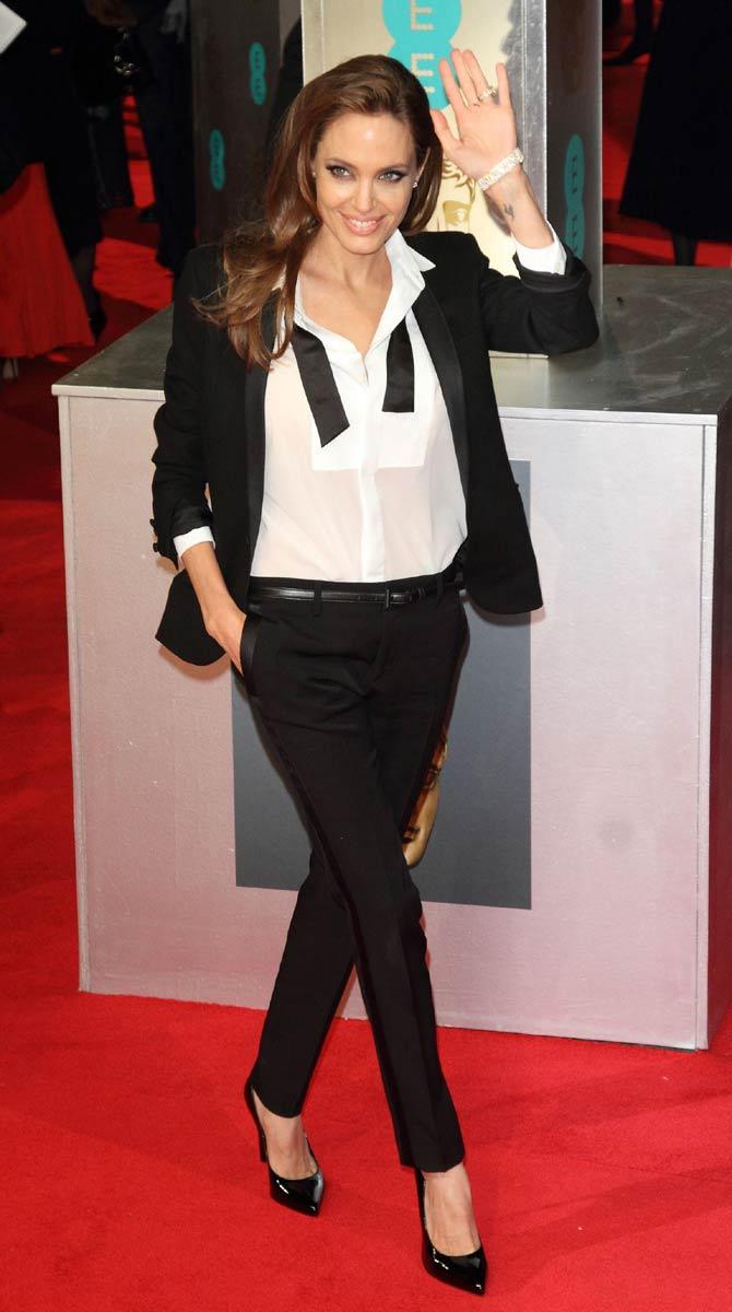 Angelina Jolie at the 2014 BAFTAs