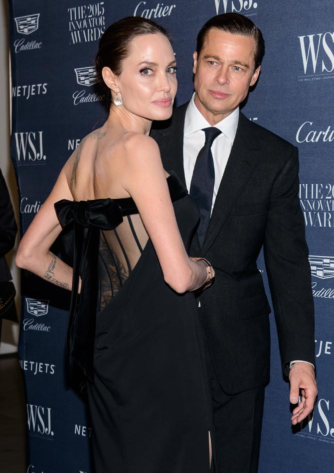 Angelina Jolie at WSJ Magazine 2015 Innovator Awards