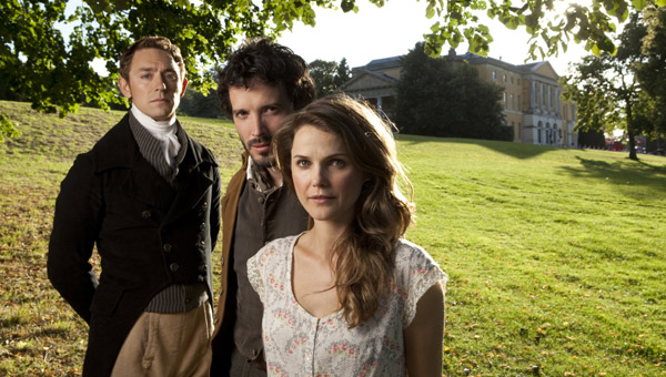 JJ Field, Bret McKenzie and Keri Russell