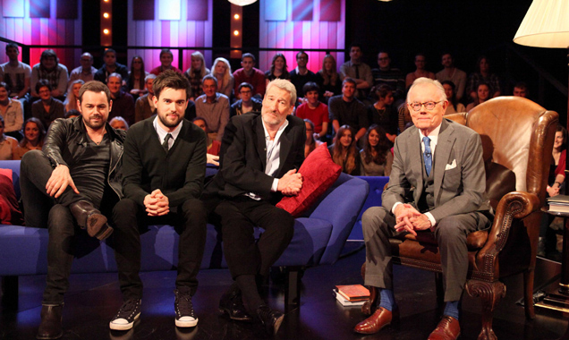 Danny Dyer, Jack Whitehall, Jeremy Paxman and Michael Whitehall