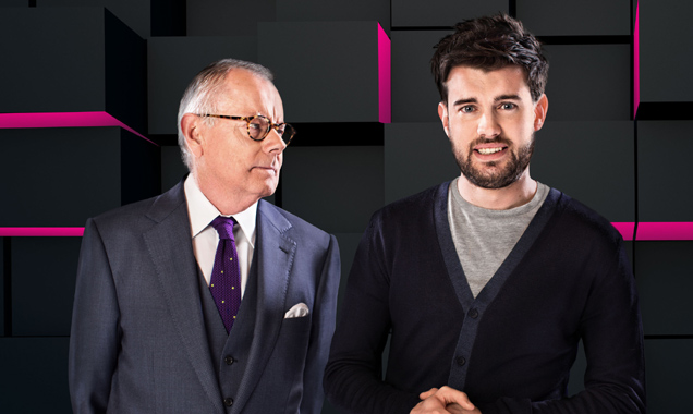 Jack Whitehall and Michael Whitehall