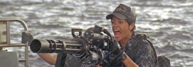 Rihanna gets out of her comfort zone in Battleship