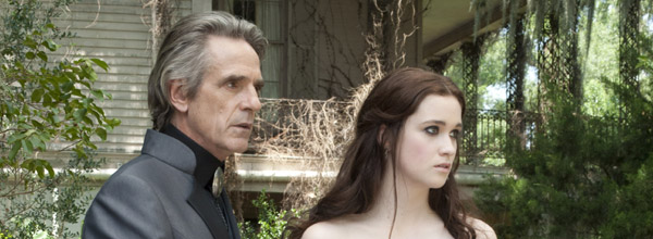 Jeremy Irons & Alice Englert in Beautiful Creatures