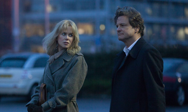 Nicole Kidman and Colin Firth in 'Before I Go To Sleep'