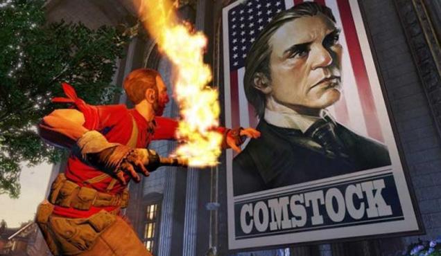 Bioshock Infinite gameplay