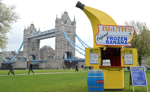 Bluth Frozen Banana Stand