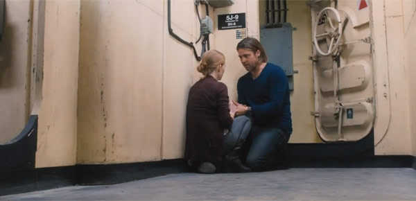 Karen& Gerry Lane and as played by Mireille Enos & Brad Pitt respectively in World War Z