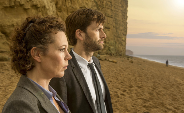 Olivia Colman David Tennant Broadchurch
