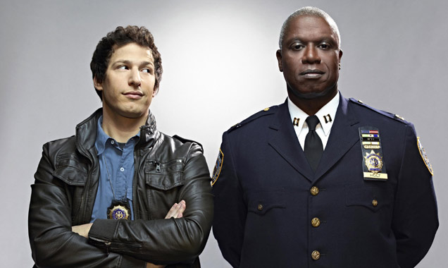Brooklyn Nine Andy Samberg Andrew Braugher