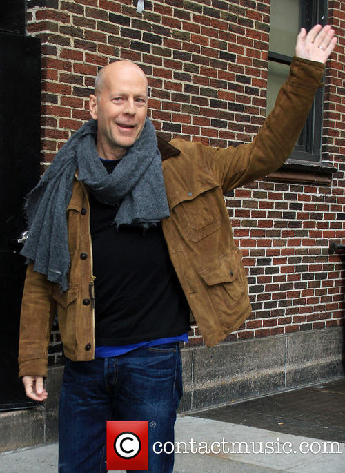 Bruce Willis appearing on a significantly better interview with David Letterman