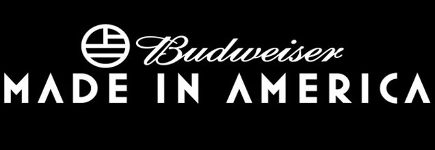 Budweiser Made In America 2014 logo