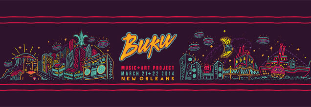 Buku Music and Art Project 2014 logo
