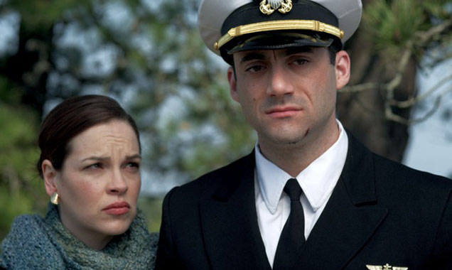 Tammy Blanchard and Morgan Spector