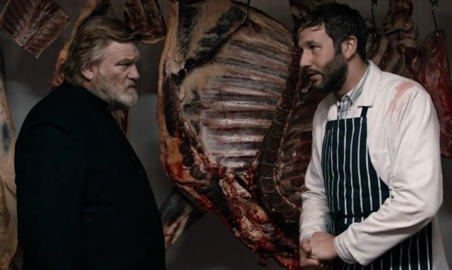 Brendan Gleeson and Chris O' Dowd