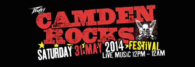 Camden Rocks 2014 logo