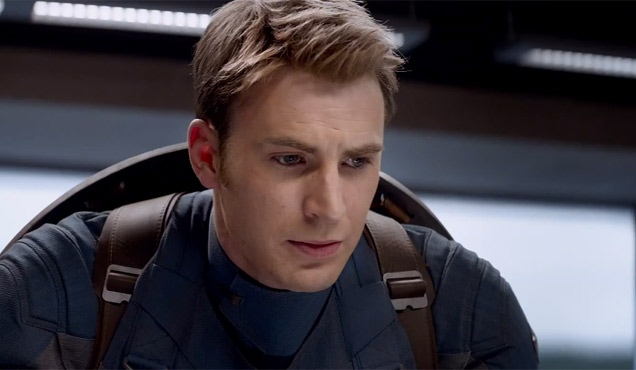 Chris Evans Captain America The Winter Soldier