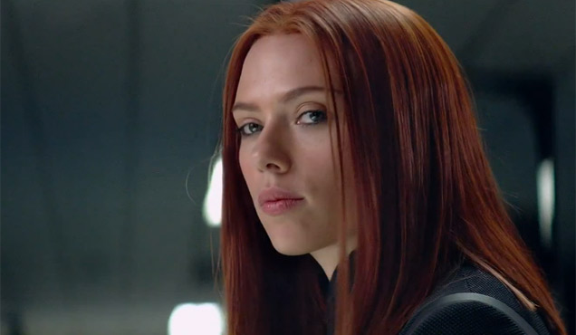 Scarlett Johansson returns as Black Widow