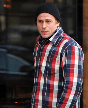 Charlie Hunnam Out And About