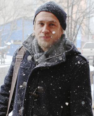 Charlie Hunnam at Sundance