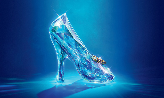 Cinderella Glass Slipper Poster