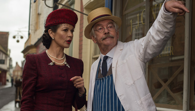 Catherine Zeta-Jones Adds Wonderful WWII Glamour To 'Dad's Army' [Trailer + Pictures]