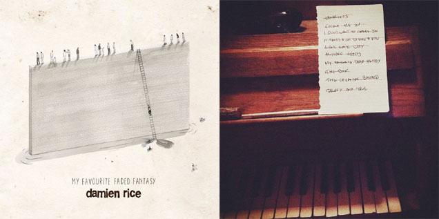 Damien Rice 'My Favourite Faded Fantasy' artwork